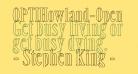 OPTIHowland-Open