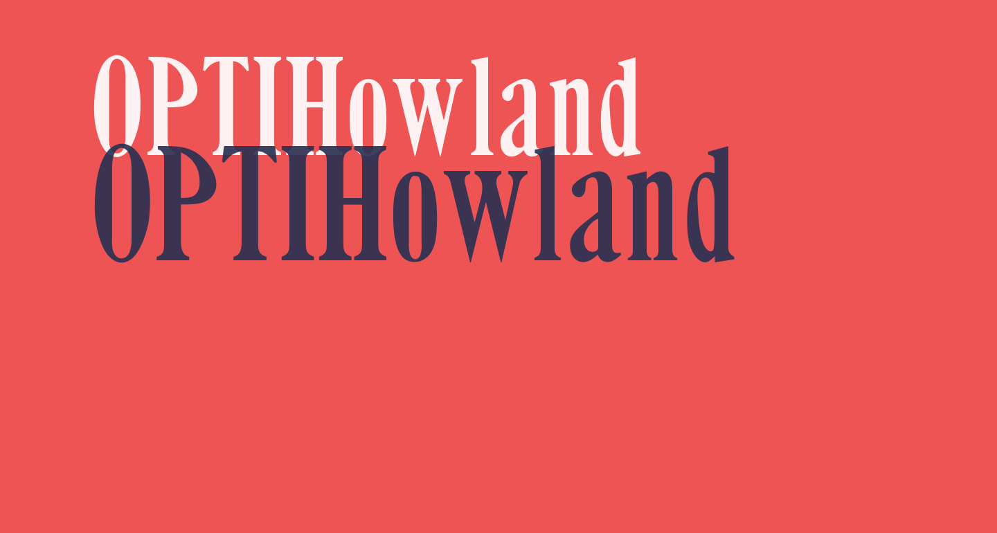 OPTIHowland