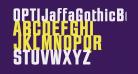 OPTIJaffaGothicBold