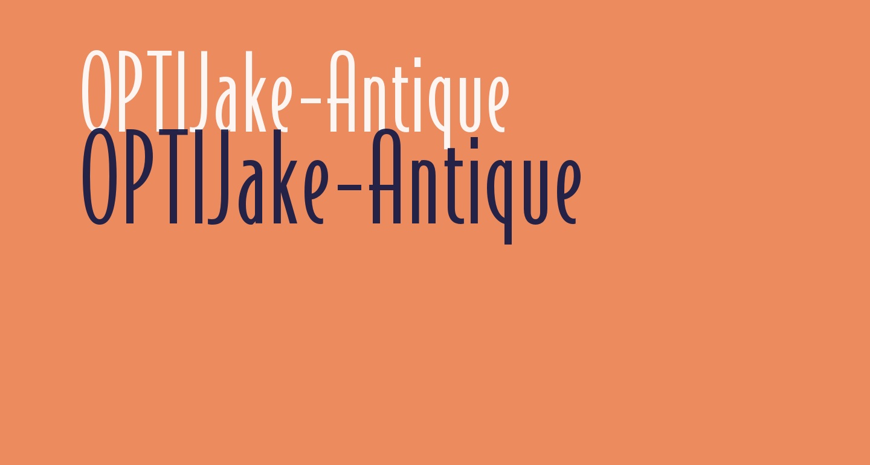 OPTIJake-Antique
