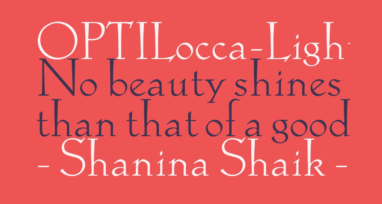 OPTILocca-Light