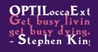 OPTILoccaExtra-Bold
