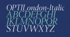 OPTILondon-Italic