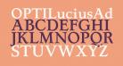 OPTILuciusAd-Bold