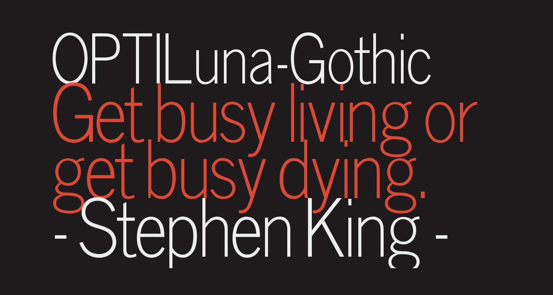 OPTILuna-Gothic