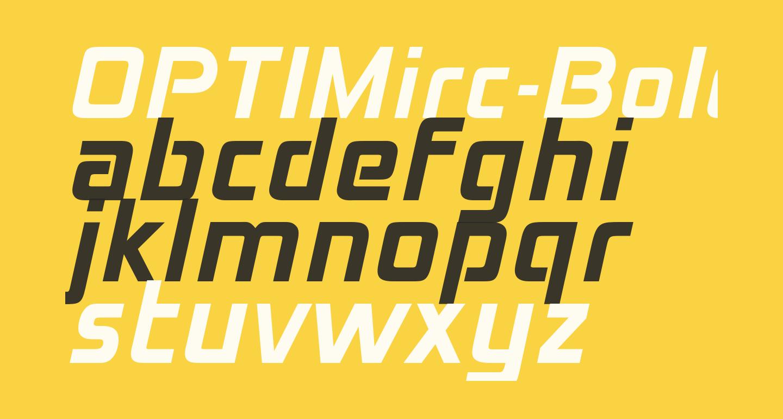 OPTIMirc-Bold