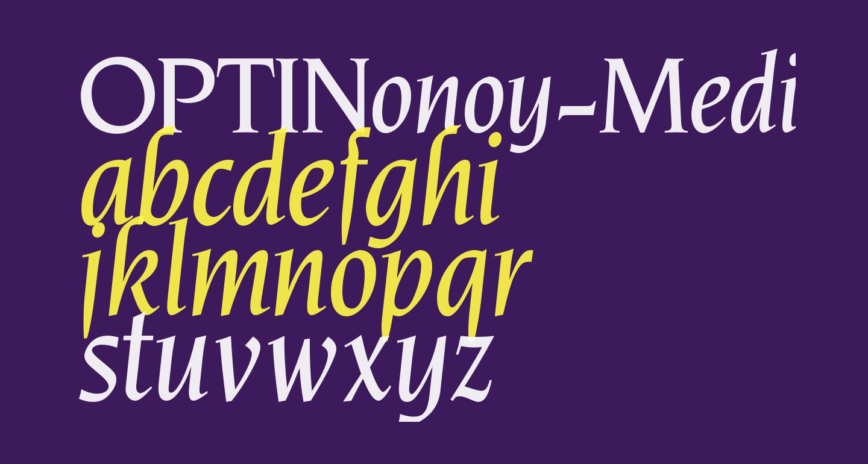 OPTINonoy-MediumItalic