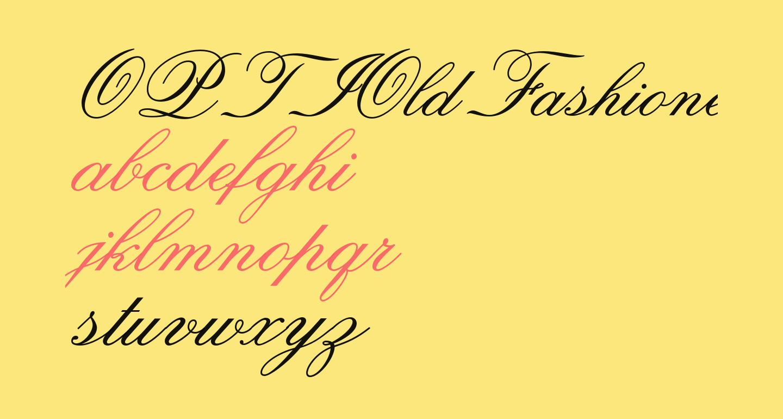 OPTIOldFashioned-Script