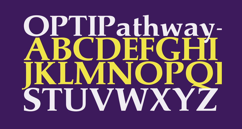 OPTIPathway-ExtraBold