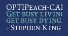 OPTIPeach-CAP