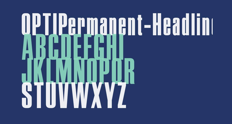 OPTIPermanent-Headline