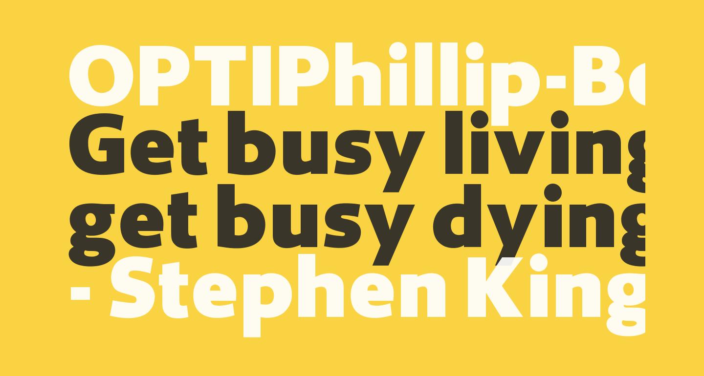 OPTIPhillip-Bold