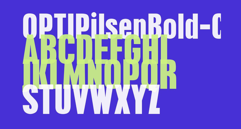 OPTIPilsenBold-Cond