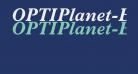 OPTIPlanet-BoldItalic