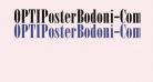 OPTIPosterBodoni-Compr