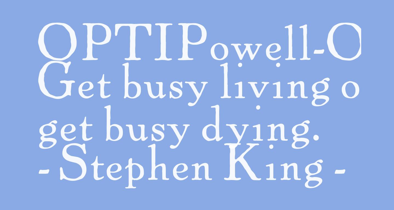 OPTIPowell-OldStyle