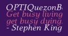 OPTIQuezonBook-Italic