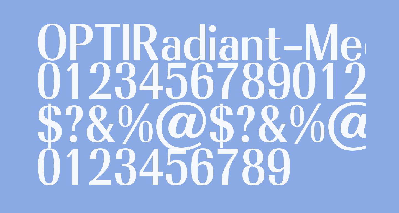 OPTIRadiant-Medium