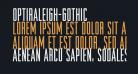 OPTIRaleigh-Gothic