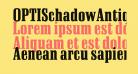 OPTISchadowAntiquaBoldCond