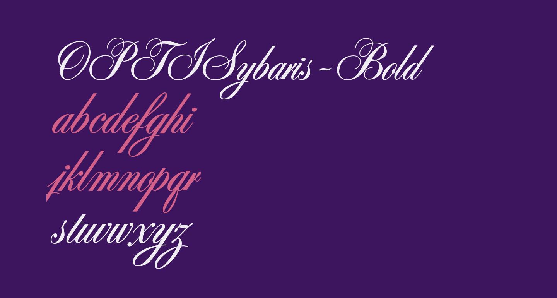 OPTISybaris-Bold