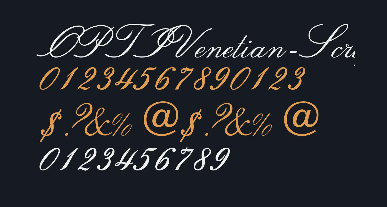 OPTIVenetian-Script