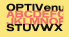 OPTIVenus-BoldExtended