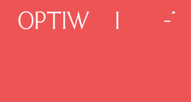 OPTIWeissInitials-Two