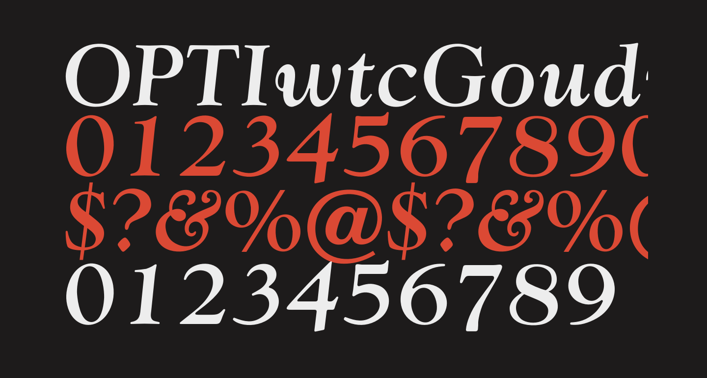 OPTIwtcGoudy-MediumItalic