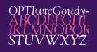OPTIwtcGoudy-RegularItalic