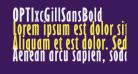 OPTIxcGillSansBold