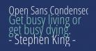 Open Sans Condensed Light