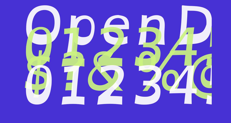 OpenDyslexicAlta Bold Italic