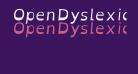 OpenDyslexicAlta Italic