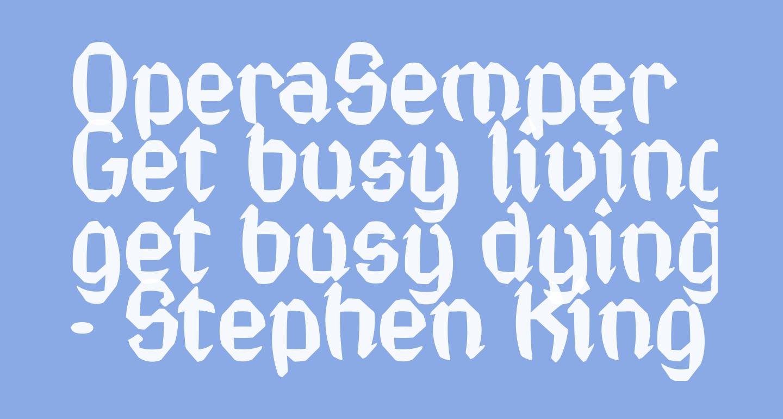 OperaSemper