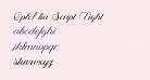 Oph?lia Script Light