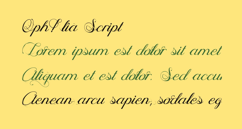 Oph?lia Script