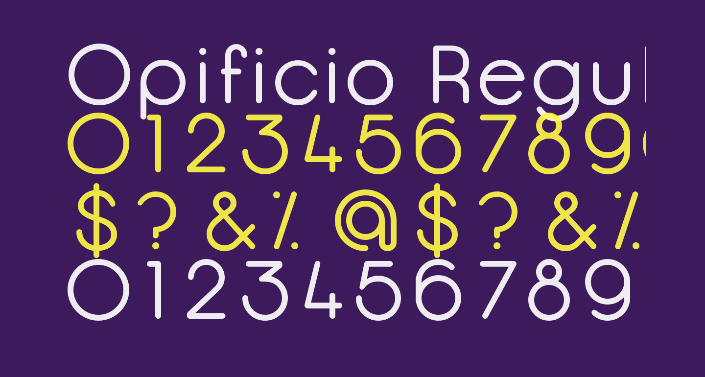 Opificio Regular-Rounded