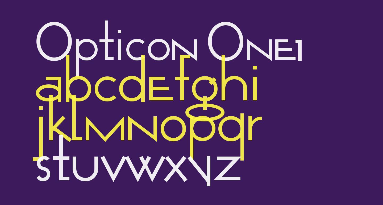 Opticon  One1