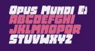 Opus Mundi Expanded Italic