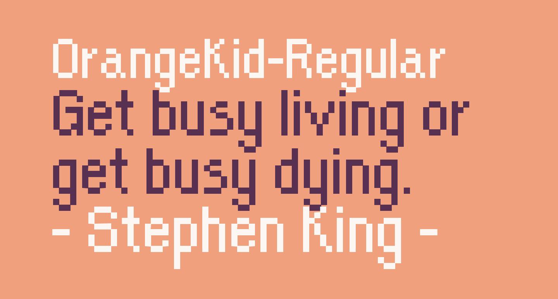 OrangeKid-Regular