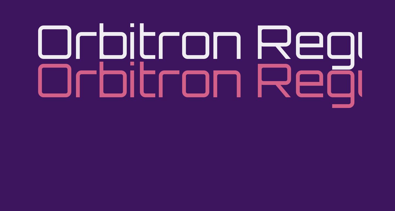 Orbitron Regular