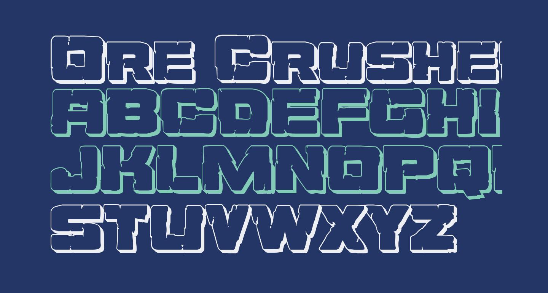 Ore Crusher 3D Regular