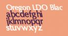Oregon LDO Black Sinistral
