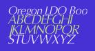 Oregon LDO Book Oblique