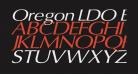 Oregon LDO Extended Oblique