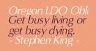 Oregon LDO Oblique