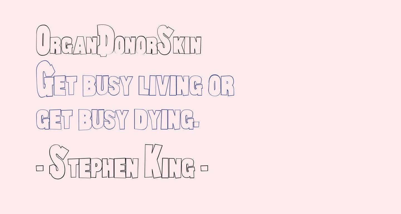 OrganDonorSkin