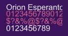 Orion Esperanto Normala