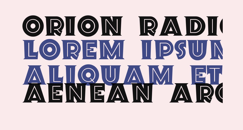 Orion Radio NF